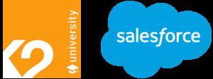Logo K2 y Salesforce